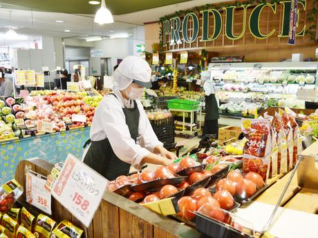2月オープン*未経験歓迎野菜・果物売場で、陳列・商品出しのお仕事*先輩スタッフ多数