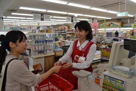 シフトの相談柔軟に対応します!!トヨタ生協 メグリアで働く*スーパーの店舗スタッフのお仕事です